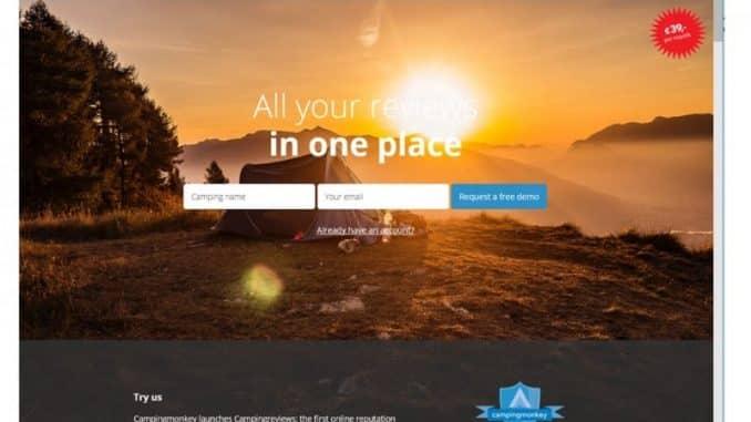 Screenshot von camping-reviews.com