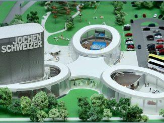 Miniatur der Jochen-Schweizer-Arena