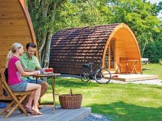 NATURWAGEN & LODGES bietet das romantische naturnahe Wohnflair.