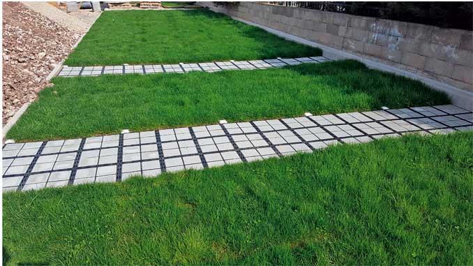 ECORASTER® Bodengitter reduzieren Regenwasserkosten und den Pflegeaufwand auf Ihren Flächen spürbar.
