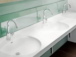 Mit dem Mineralwerkstoff VARICOR® werden Oberflächen aller Art in nahezu jeder Wunschfarbe und -form realisierbar.