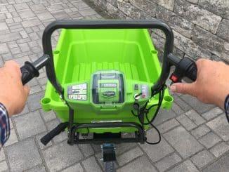 Greenworks Tools Akku-Schubkarre