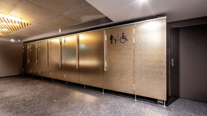 Kemmlit WC-Trennwandsystem cell